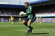 Goalkeeper Robert Green of Leeds United in action.  Skybet EFL championship match, Queens Park Rangers v Leeds United at Loftus Road Stadium in London on Sunday 7th August 2016.<br /> pic by John Patrick Fletcher, Andrew Orchard sports photography.
