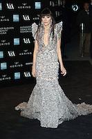 Annabelle Neilson, Alexander McQueen: Savage Beauty Fashion Gala, Victoria & Albert Museum, London UK, 12 March 2015, Photo by Richard Goldschmidt