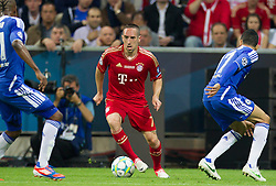 19.05.2012, Allianz Arena, Muenchen, GER, UEFA CL, Finale, FC Bayern Muenchen (GER) vs FC Chelsea (ENG), im Bild Franck Ribery, (FC Bayern München #07) during the Final Match of the UEFA Championsleague between FC Bayern Munich (GER) vs Chelsea FC (ENG) at the Allianz Arena, Munich, Germany on 2012/05/19. EXPA Pictures © 2012, PhotoCredit: EXPA/ Peter Rinderer