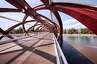 Peace Bridge (Interior) & Bow River