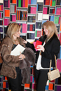 PIA GETTY;, Smythson Sloane St. Store opening. London. 6 February 2012.