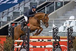 Van Den Broeck Tim, BEL, Cazan van het Schaeck Z<br /> Pavo Hengsten competitie - Oudsbergen 2021<br /> © Hippo Foto - Dirk Caremans<br />  22/02/2021