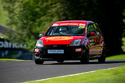 Bradley Beavers in action while competing in the BRSCC Fiesta Junior Championship. Picture taken at Cadwell Park on August 1 & 2, 2020 by BRSCC photographer Jonathan Elsey