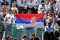 supporters Novak DJOKOVIC  - 07.06.2015 - Jour 15 - Finale   - Roland Garros 2015<br />