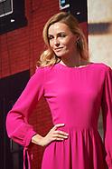 030817 Model Valentina Zenlayaeva Presents New Corte Ingles Store Spring Campaigne