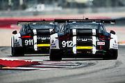 September 17, 2016: IMSA at Circuit of the Americas. #912 Earl Bamber, Frederic Makowiecki, Porsche North America, Porsche 911 RSR GTLM, #911 Patrick Pilet, Nick Tandy, Porsche North America, Porsche 911 RSR GTLM