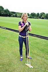 The MARCHIONESS OF MILFORD-HAVEN at a charity polo match organised by Jaeger Le Coultre was held at Ham Polo Club, Richmond, Surrey on 12th June 2009.