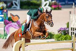 BREEN Shane (IRL), Ipswich van de Wolfsakker<br /> Tryon - FEI World Equestrian Games™ 2018<br /> 2. Qualifikation Teamwertung 2. Runde<br /> 21. September 2018<br /> © www.sportfotos-lafrentz.de/Stefan Lafrentz