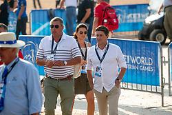Philippaerts Ludo, BEL, Detry Stephan, BEL<br /> World Equestrian Games - Tryon 2018<br /> © Hippo Foto - Sharon Vandeput<br /> 20/09/2018