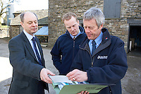 barn in Cumbria inspectors checking the work of a builder