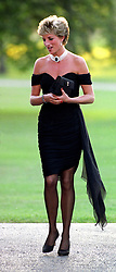 """Embargoed to 0001 Monday August 21 File photo dated 29/06/94 of Diana, Princess of Wales whose warmth, compassion and empathy for those she met earned her the description the """"people's princess""""."""
