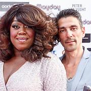 NLD/Amsterdam/20150629 - Uitreiking Rainbow Awards 2015, Berget Lewis en partner Ramon