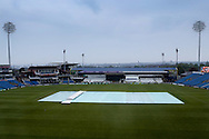 Headingley rained off during the Specsavers County Champ Div 1 match between Yorkshire County Cricket Club and Surrey County Cricket Club at Headingley Stadium, Headingley, United Kingdom on 10 May 2016. Photo by Simon Davies.