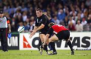 17 October 2003, Rugby Union World Cup, Pool Match, All Blacks v Canada, Telstra Dome, Melbourne, Australia.<br />Mark Hammett.<br />All Blacks won 68-6.<br />Pic: Andrew Cornaga/Photosport