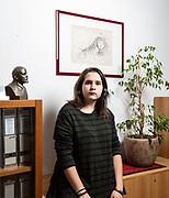 """Carolina Paparozzi. Circolo culturale e sede di Liberi e Uguali """"Aurora"""", Collegno, TO."""