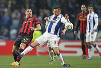 20120216: PORTO, PORTUGAL – UEFA Europa League 2011/2012 - 1/16 Final - 1st Leg: FC Porto vs Man. City.<br /> In photo: DEFOUR.<br /> PHOTO: PEDRO PEREIRA/CITYFILES