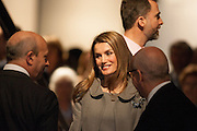 Princess Letizia Ortiz in the Opening of ARCO Art Fair in Madrid