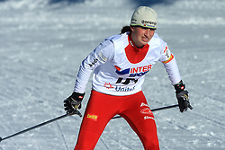 Slovenian cross-country skier Eva Klemencic at 10th OPA - Continental Cup 2008-2009, on January 17, 2009, in Rogla, Slovenia.  (Photo by Vid Ponikvar / Sportida)