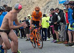 23.05.2017, Bormio, ITA, Giro d Italia 2017, 16. Etappe, Rovetta nach Bormio, im Bild Jan Hirt (CZE, CCC Sprandi Polkowice) // Jan Hirt (CZE, CCC Sprandi Polkowice) during the 16th stage of the 100th Giro d' Italia cycling race from Rovetta to Bormio, in Bormio Italy on 2017/05/23. EXPA Pictures © 2017, PhotoCredit: EXPA/ R. Eisenbauer