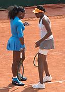 Serena (on left) and Venus Williams