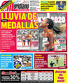 September 01, 2021 - LATIN AMERICA: Front-page: Today's Newspapers In Latin America