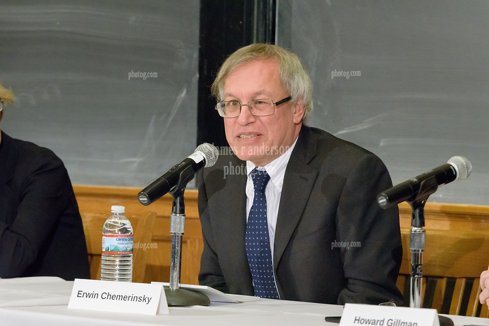 Poynter Free Speech on Campus Panel at Yale University. 2 March 2018