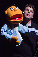 """Missouri Street Theatre presents """"Avenue Q,"""" directed by Gino Patina & Dae Spering, at the Fairfield Center for the Creative Arts from October 21st to November 6th, 2011."""