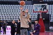 Gregorio Paltrinieri<br /> Virtus Roma - Givova Scafati<br /> Campionato Basket LNP 2018/2019<br /> Roma 14/04/2019<br /> Foto Gennaro Masi / Ciamillo-Castoria