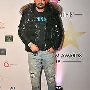 Sidhu Moose Wala attend the BritAsiaTV Presents Kuflink Punjabi Film Awards 2019 at Grosvenor House, Park Lane, London,United Kingdom. 30 March 2019