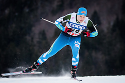 Hakala Karri (FIN) during Man 1.2 km Free Sprint Qualification race at FIS Cross<br /> Country World Cup Planica 2016, on January 16, 2016 at Planica,Slovenia. Photo by Ziga Zupan / Sportida