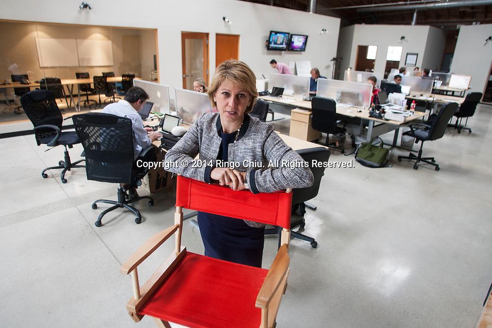 Sharon Waxman, founder of TheWrap. (Photo by Ringo Chiu/PHOTOFORMULA.com)