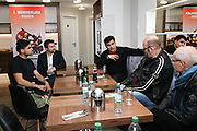 Boxen: 1. Bundesliga, Hamburg Giants, Hamburg, 13.02.2017<br /> Pressetraining zur Kooperation mit dem Hamburger Profi-Boxstall EC Boxing<br /> © Torsten Helmke