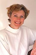 Portrait of a happy woman age 45.  Woodbury Minnesota USA