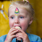 14.06.2018.             <br /> Limerick Food Group hosted the Urban Food Fest street food evening in the Milk Market on Thursday June 14th with a 'Summer Fiesta' theme in one big Limerick city summer party.<br /> <br /> Pictured at the event were, Aoibhe O'Sullivan. Picture: Alan Place