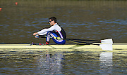 Caversham  Great Britain.<br /> Sam TOWNSEND,<br /> 2016 GBR Rowing Team Olympic Trials GBR Rowing Training Centre, Nr Reading  England.<br /> <br /> Tuesday  22/03/2016 <br /> <br /> [Mandatory Credit; Peter Spurrier/Intersport-images]