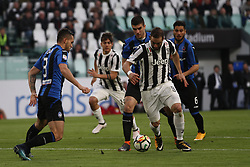 March 14, 2018 - Turin, Italy - Juventus forward Gonzalo Higuain (9) in action during the Serie A football match n.26 JUVENTUS - ATALANTA on 14/03/2018 at the Allianz Stadium in Turin, Italy. (Credit Image: © Matteo Bottanelli/NurPhoto via ZUMA Press)
