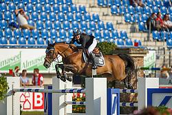 Goldstein Danielle, (ISR), Carisma<br /> Team and 1th individual qualifier <br /> FEI European Championships - Aachen 2015<br /> © Hippo Foto - Dirk Caremans<br /> 19/08/15