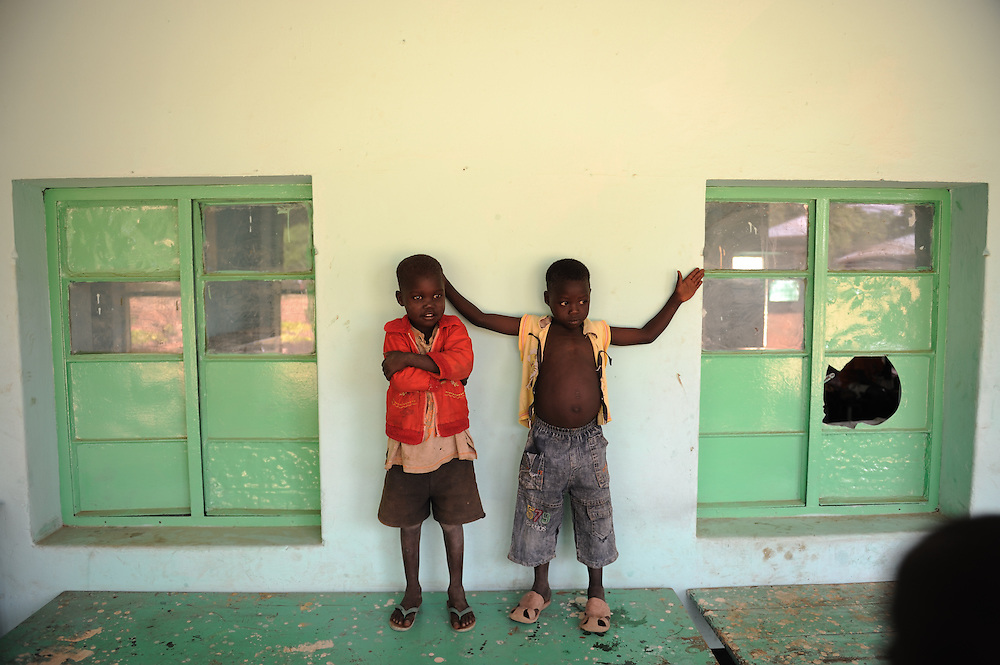 Children orphans of war at the Orphanage Home of Juba, Southern Sudan.