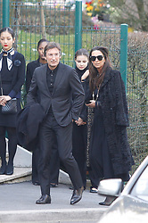 Funeral Ceremony of Karl Lagerfeld at the crematorium of the Mont Valerien in Paris Caroline de Monaco;Ines de la Fressange;Bernard Arnault;Pierre Casiraghi;Katia Toledano;Natalia Vodianova;Carine Roitfeld;Helene Arnault;Sidney Toledano;Sebastien Jondeau;Xavier Niel (PDG Free). 22 Feb 2019 Pictured: Funeral Ceremony of Karl Lagerfeld at the crematorium of the Mont Valerien in Paris. Photo credit: Eliotpress/MEGA TheMegaAgency.com +1 888 505 6342
