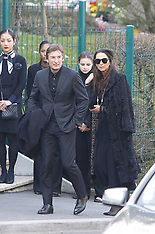Funeral Ceremony of Karl Lagerfeld - 22 Feb 2019