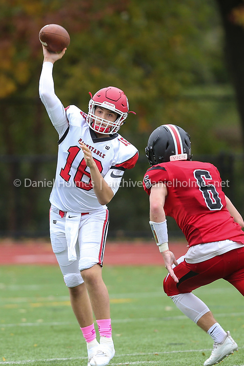 (10/28/18, WELLESLEY, MA) Wellesley's NAME DOESTHIS during the first round of the Division 2 South playoffs against Barnstable at Wellesley High School  on Sunday. [Daily News and Wicked Local Photo/Dan Holmes]<br /> <br /> (10/28/18, WELLESLEY, MA) Barnstable's NAME DOESTHIS during the first round of the Division 2 South playoffs against Wellesley at Wellesley High School  on Sunday. [Daily News and Wicked Local Photo/Dan Holmes]