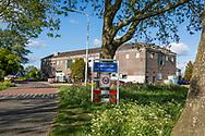 11-05-2020: Langelille, Weststellingwerf - het gebouw van de oude zuivelfabriek