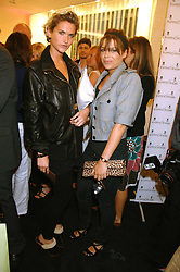 Left to right, EMILY LOBEL and WILLA KESWICK at the launch party for the Mappin & Webb Regents Street branch at 132 Regent Street, London on 19th June 2007.<br /><br />NON EXCLUSIVE - WORLD RIGHTS