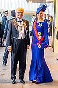 Koning Carl Gustaf van Zweden en Prinses Victoria  / King Carl Gustaf of Sweden and Princess Victoria