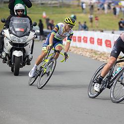 WIJSTER (NED) June 20: <br /> CYCLING <br /> Dutch Nationals Road Men up and around the Col du VAM<br /> Nick Van Der Lijke (Netherlands / Riwal Readynez Cycling Team)<br /> Maurits LAMMERTINK (Netherlands / Team Intermarche - Wanty Gobert)