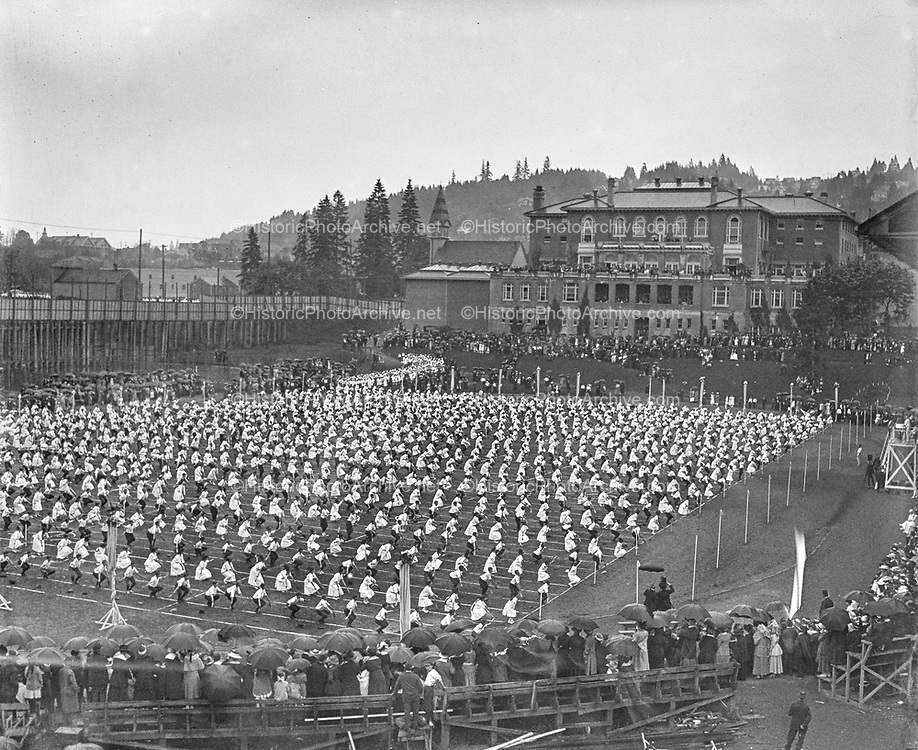 """May Festival"" (Multnomah Field, May 17, 1916)"