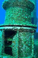 Main deck pulley, USS Kittiwake