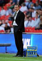 Tony Mowbray Manager<br /> Celtic 2009/10<br /> Celtic FC V Al Ahly 24/07/09<br /> The Wembley Cup at Wembley Stadium<br /> Photo Robin Parker Fotosports International