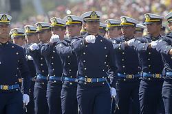 September 7, 2017 - Sao Paulo, Brazil - Military parade of September 7 marks the celebrations of Independence of Brazil in the Sambodrome in Anhembi (Credit Image: © Dario Oliveira via ZUMA Wire)