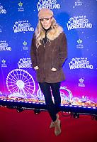 Caroline Flack at the  Hyde Park Winter Wonderland launch, London, UK - 20 Nov 2019